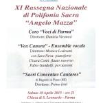 Locandina Rassegna Mazza 2015